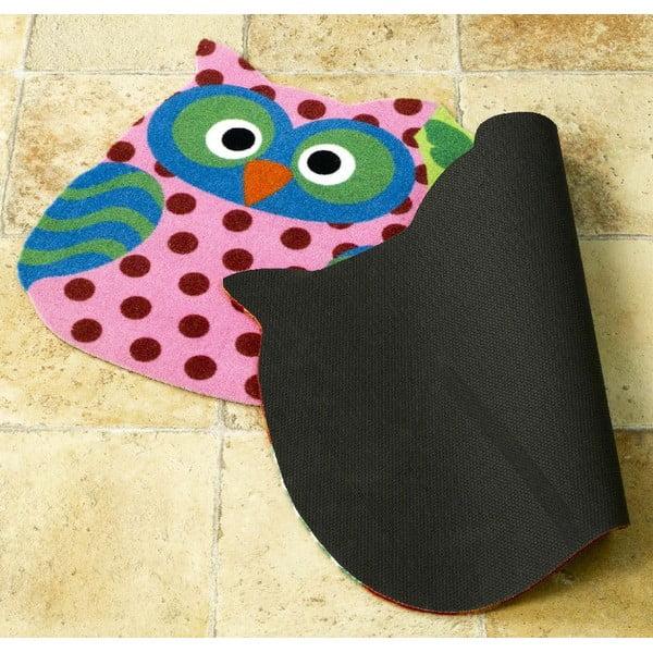 Koberec Owls - tři sovičky, 40x80 cm