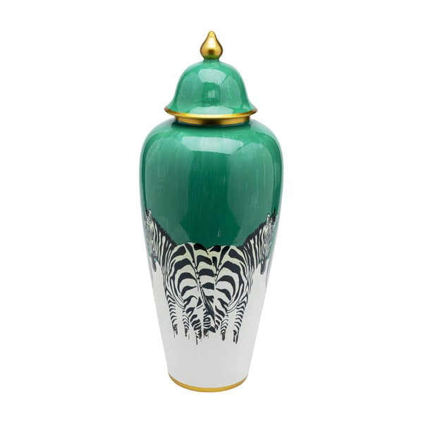 Dekorativní nádoba Kare Design Zebras, výška 63 cm
