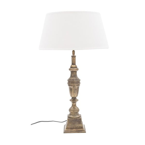 Stolní lampa Bresque Vintage Gold/Cream