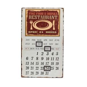 Kovový kalendář Calamita