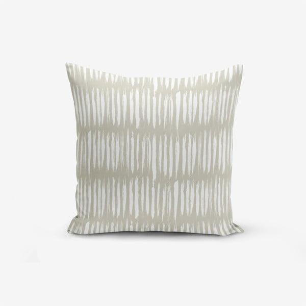 Povlak na polštář s příměsí bavlny Minimalist Cushion Covers Kahan, 45 x 45 cm