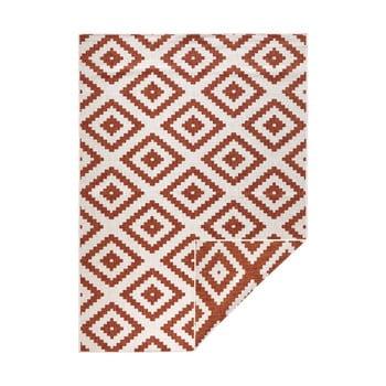 Covor adecvat pentru exterior Bougari Malta, 160 x 230 cm, roșu - crem imagine