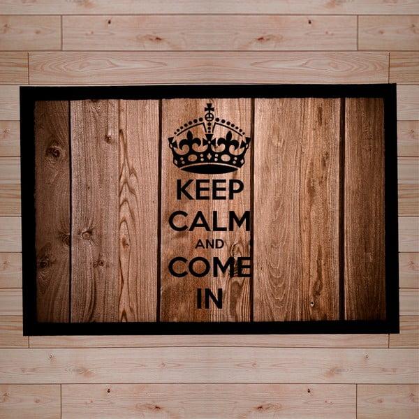 Rohožka Keep Calm and Come in, 40x60 cm