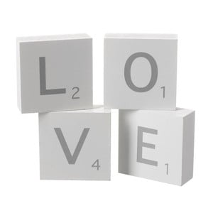 Dekorace Heaven Sends Love Blocks