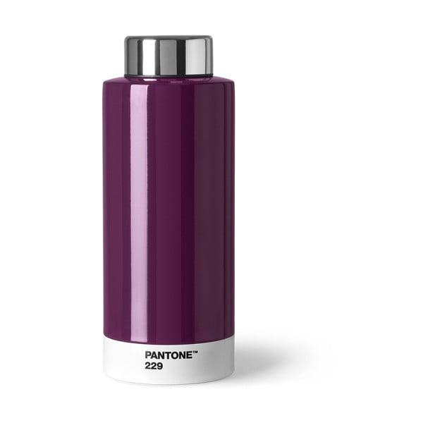Tmavě fialová láhev znerezové oceli Pantone, 630ml