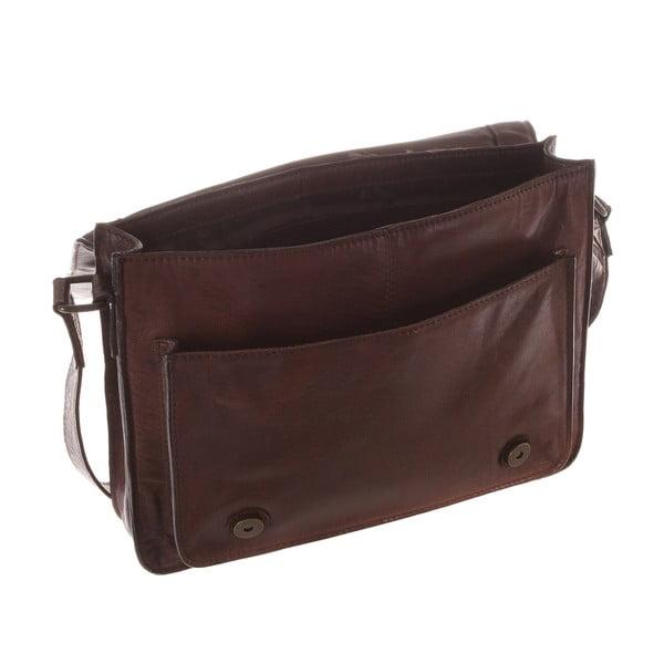 Kožená taška Camden Vintage Brown