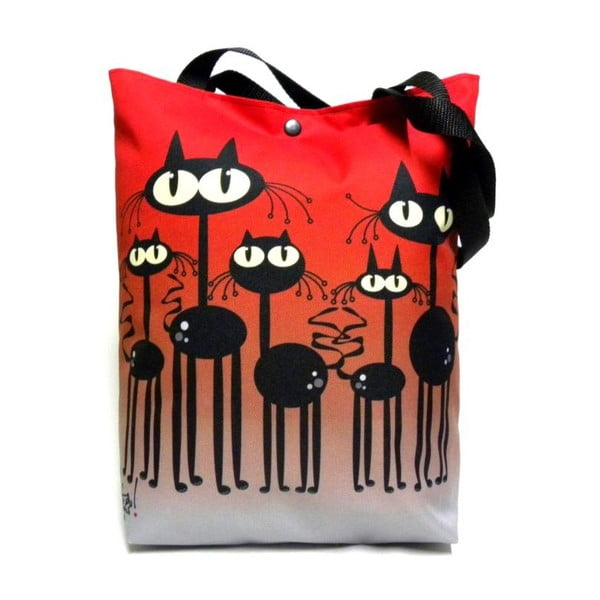 Velká taška Červené kočky