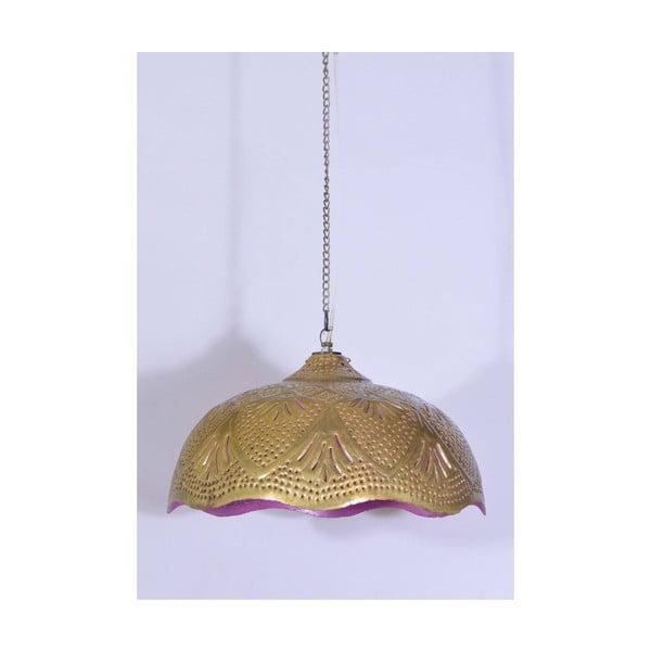 Závěsné stínítko Goa, fialový spodek