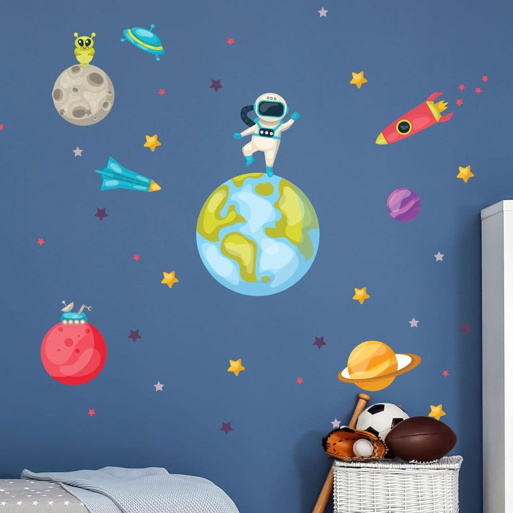 Dětské samolepky na zeď Ambiance Astronaut