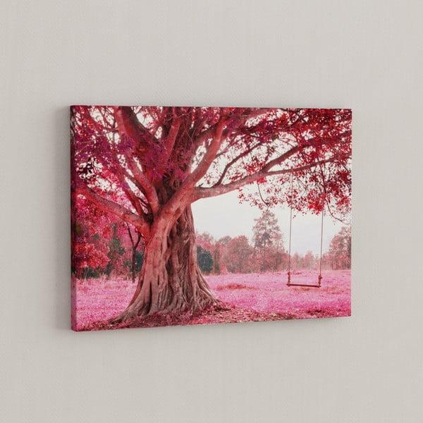 Obraz Růžový strom, 50x70 cm