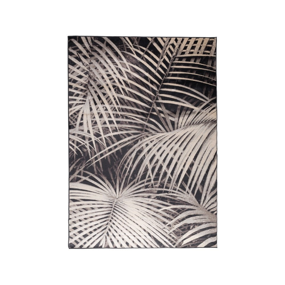 Vzorovaný koberec Zuiver Palm By Night, 170 x 240 cm
