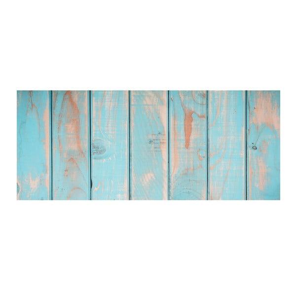 Koberec z vinylu Cocina Tablas Turquesa, 50x120 cm