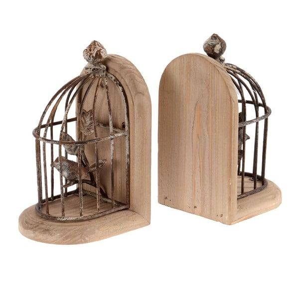 Set 2 zarážek na knihy Cage