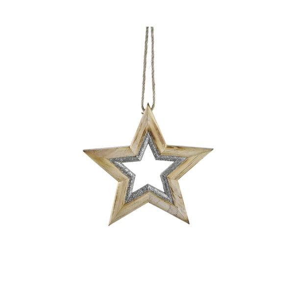 Csillag formájú karácsonyi dísz - Ego Dekor