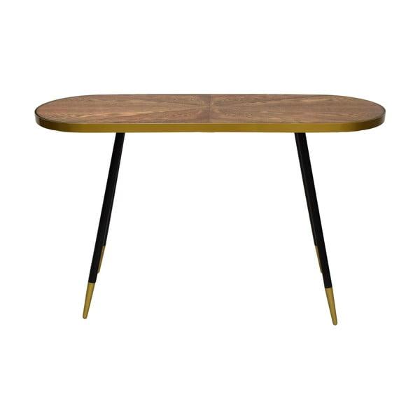 Konferenční stolek s deskou v dekoru ořechového dřeva RGE Facett, výška 75 cm