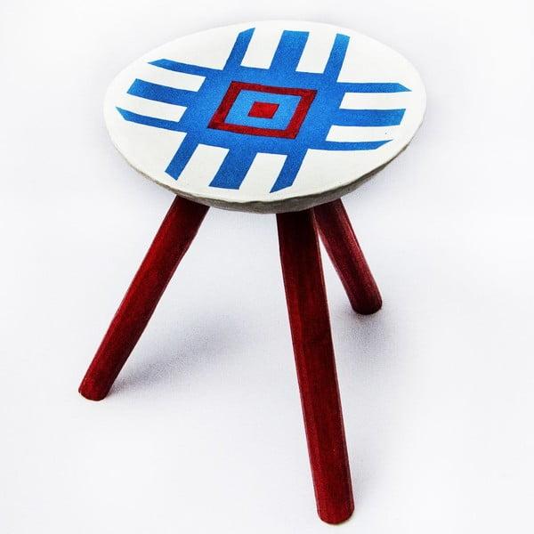 Sada 2 ručně malovaných stoliček Alma