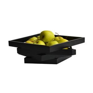 Mísa na ovoce Oblique, černá