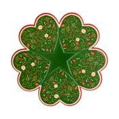 Servírovací talíř s vánočním motivem Brandani Tempo di Festa, ⌀34cm