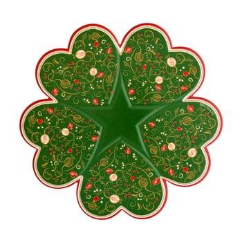 Suport bucătărie, pentru oale fierbinți Brandani Tempo di Festa, ⌀ 20 cm, verde imagine