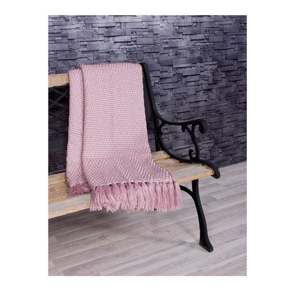 Přehoz Cool Spring 130x170 cm, růžový