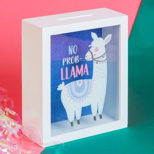 Kasička Just 4 Kids Llama No Prob Fund Box