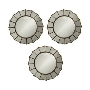 Set 3 oglinzi de perete Ixia Phaidon