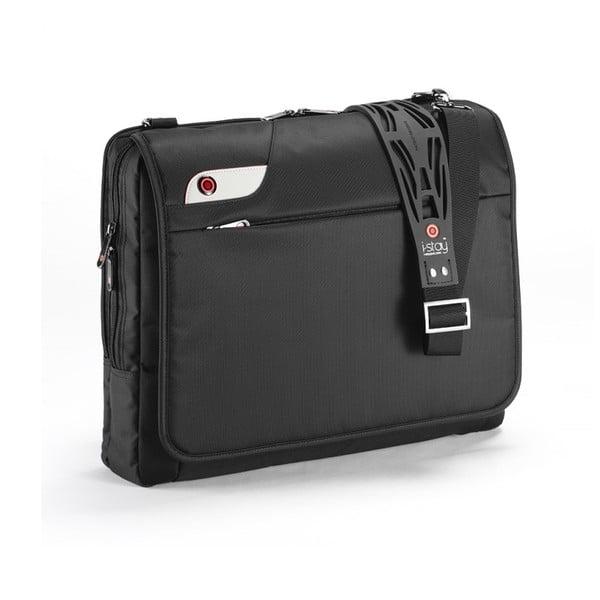 Taška na notebook i-stay Messenger, černá