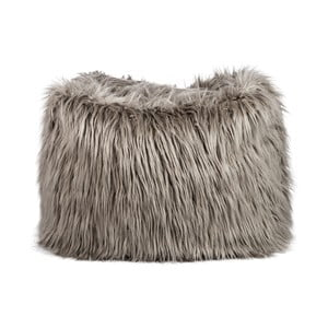 Sedací pytel Bean Bag Fur Taupe