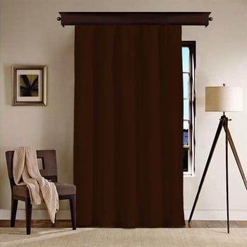 Draperie Curtain Nero, 260 x 140 cm, maro închis imagine