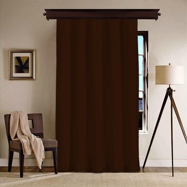 Draperie Curtain Nero, 260 x 140 cm, maro închis