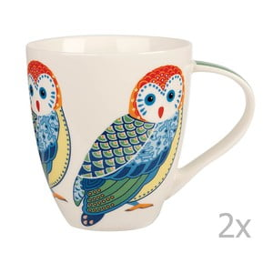 Sada 2 hrnků Churchill China Birds Crush, 500 ml
