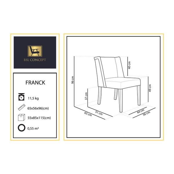 Černé křeslo BSL Concept Franck