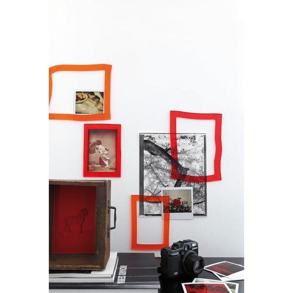 Samodržící a flexibilní fotorámeček Souvenir, černý