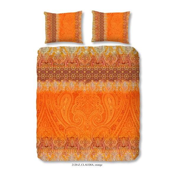 Lenjerie de pat din bumbac satinat Muller Textiels Sinna, 200 x 240 cm