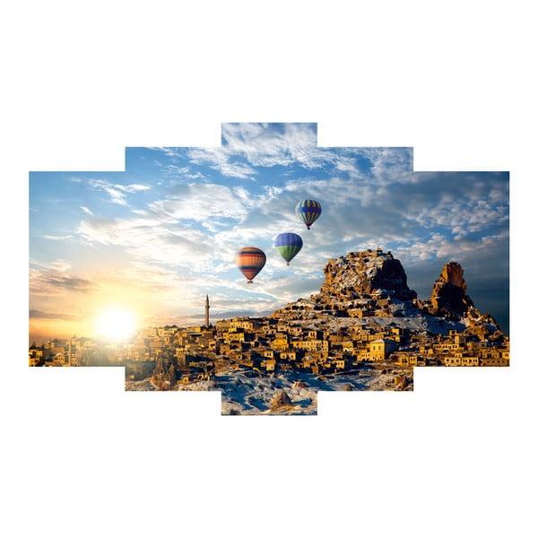 5dílný obraz Balloons