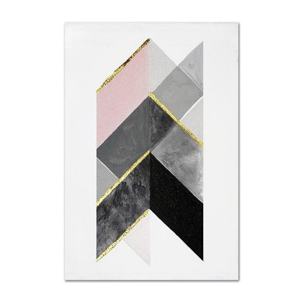 Nástěnný ručně malovaný obraz JohnsonStyle The Arrow, 60 x 90 cm