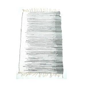 Koberec Melir  60x90 cm, černobílý