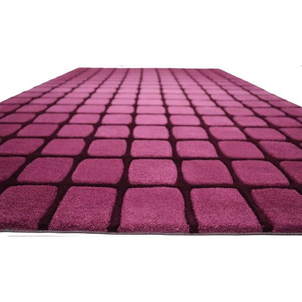 Koberec Casablanca Square 170x240 cm, růžový