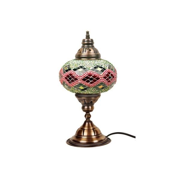Skleněná ručně vyrobená lampa Diana Ornament, 17cm