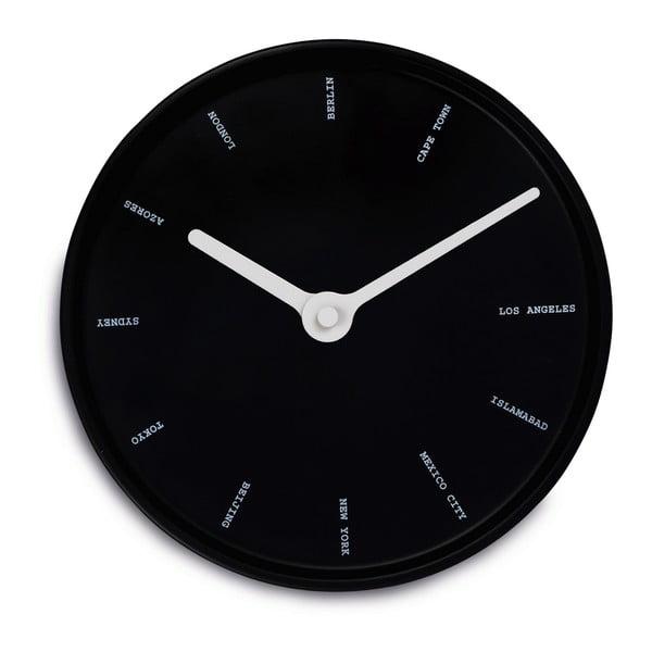 Nástěnné hodiny World Time