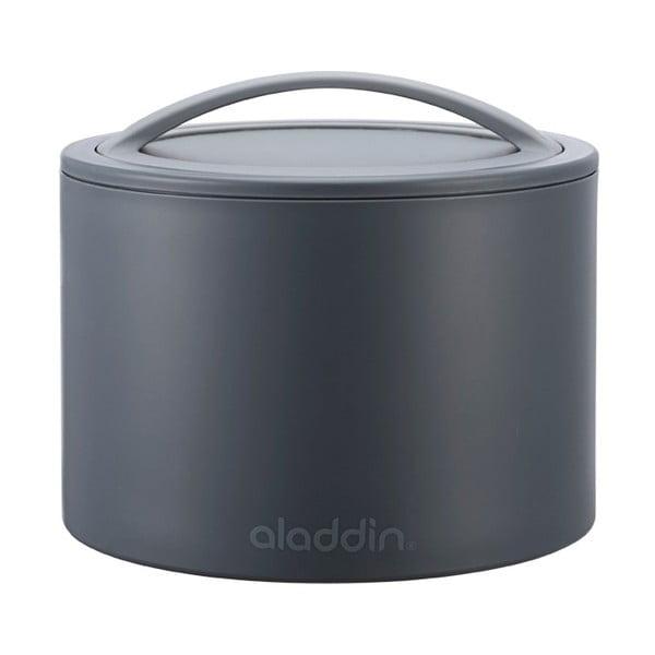 Termobox na svačinu Bento 600 ml, šedý