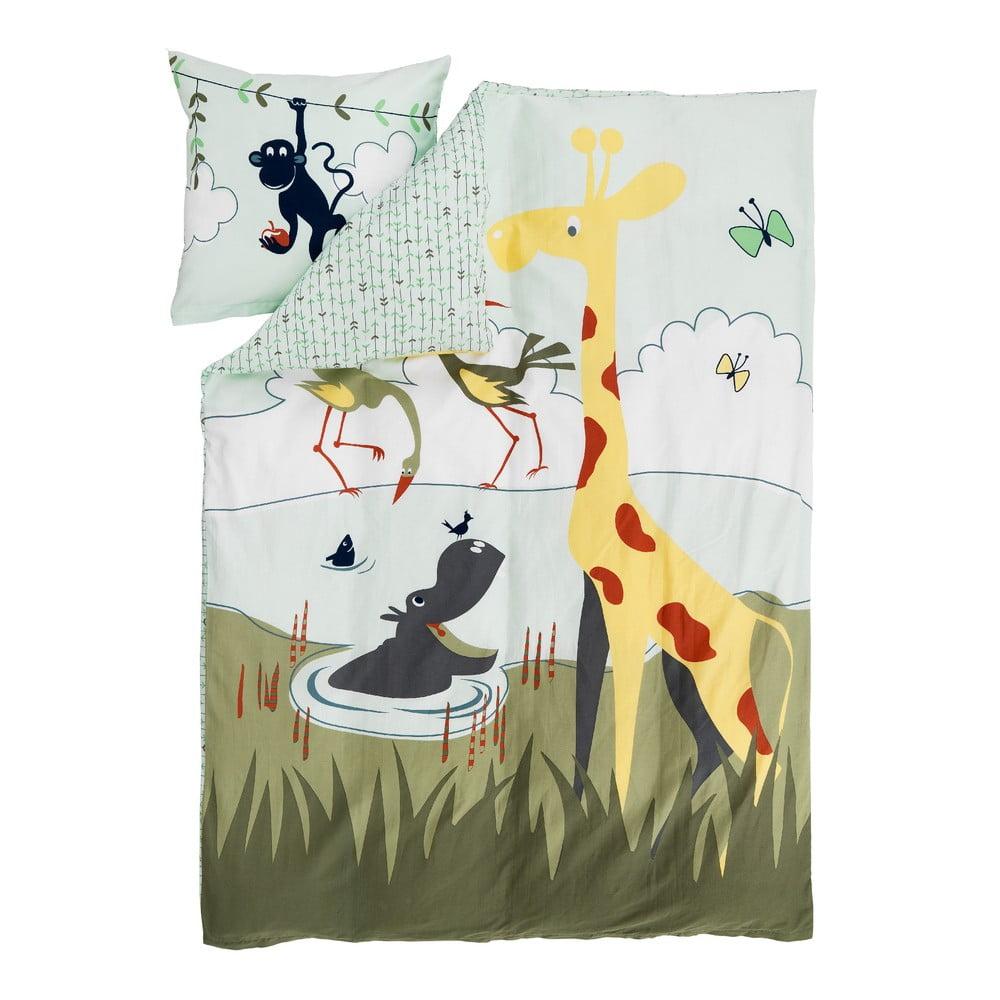 Dětské povlečení Flexa Safari, 140 x 200 cm + 60 x 63 cm