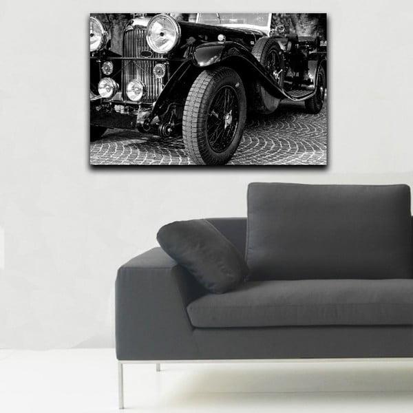 Obraz Black&White Vintage Car,45x70cm