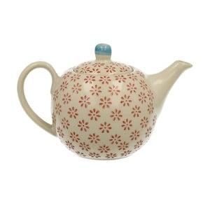 Ceainic din ceramică, infuzor metalic Duo Gift Hottie, 380 ml