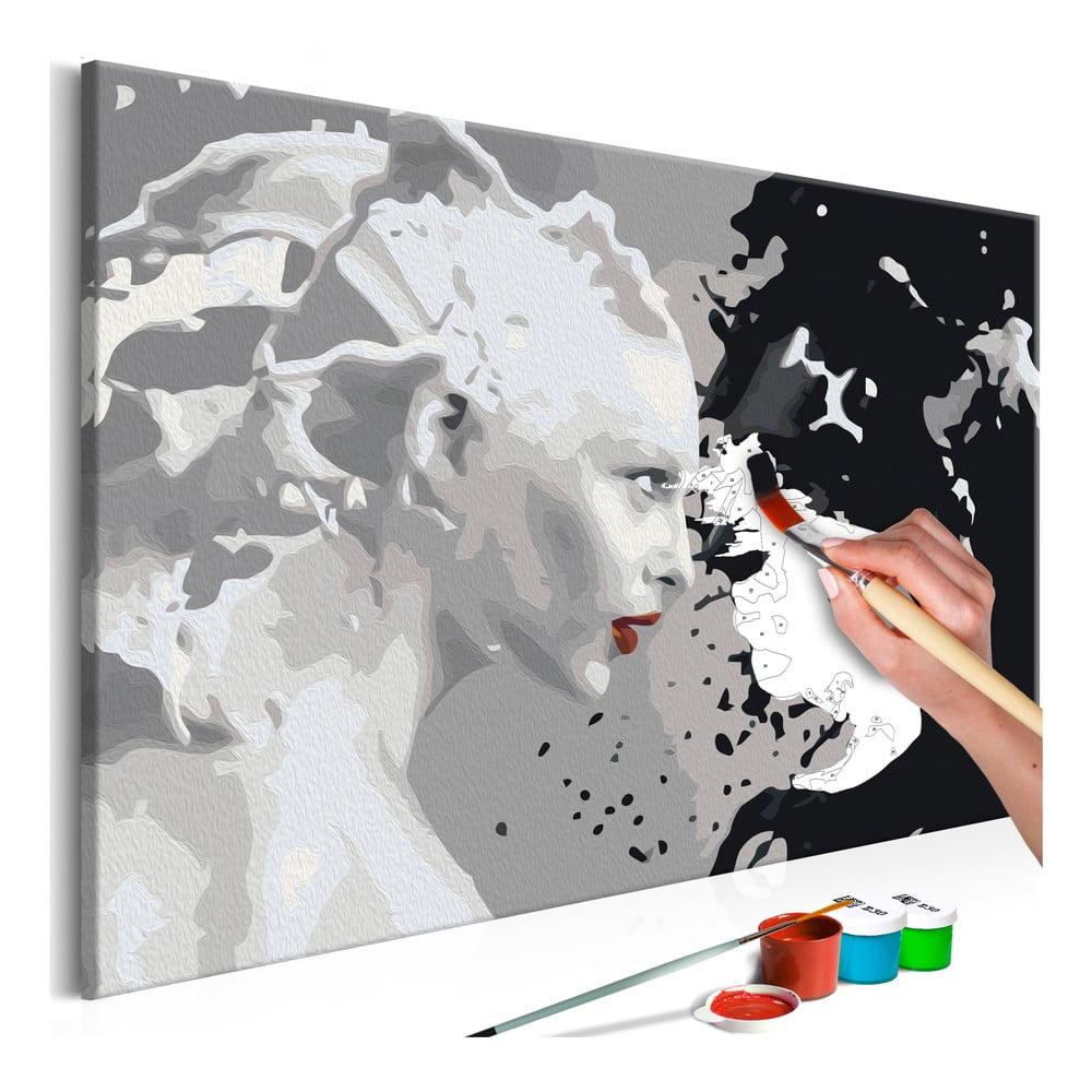 DIY set na tvorbu vlastního obrazu na plátně Artgeist Faces, 60x40 cm