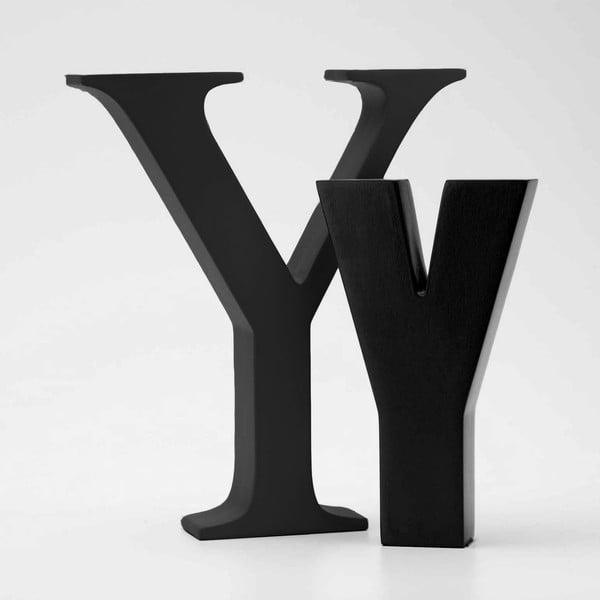 "Malé ""y"" 13x8 cm, černá"
