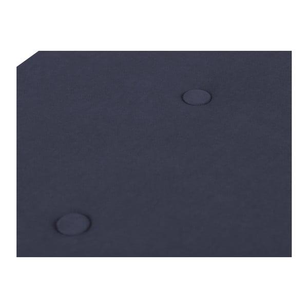 Tmavě modrý otoman s úložným prostorem Windsor & Co Sofas Astro, 200 x 47 cm