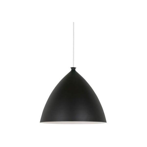 Závěsné svítidlo Nordlux Slope 35 cm, bílé/černé