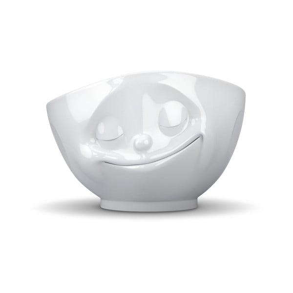 Bílá porcelánová šťastná miska 58products