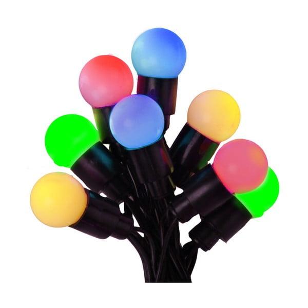 Pestrobarevná svítící dekorace Beads